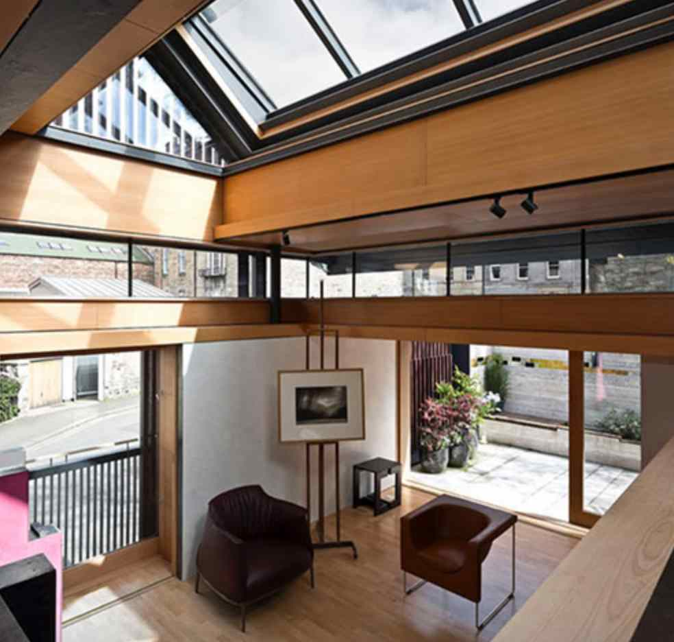 Grand Designs Presenter House: Richard Murphy Shortlisted Grand Designs RIBA House