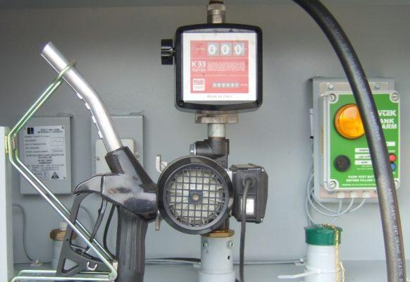 oil dispensing tank