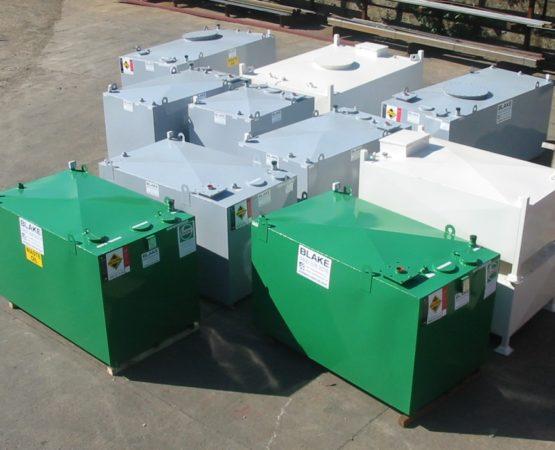 Blake steel storage tanks