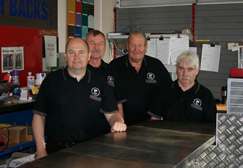 Staff at The Metal Centre Edinburgh