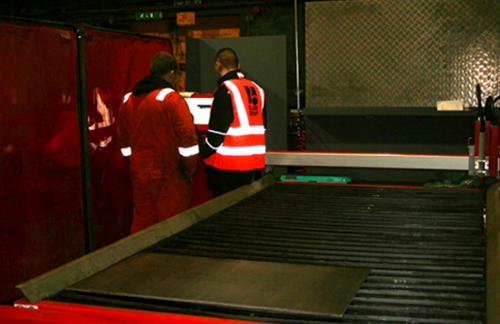 New plasma cutter expands our capabilities
