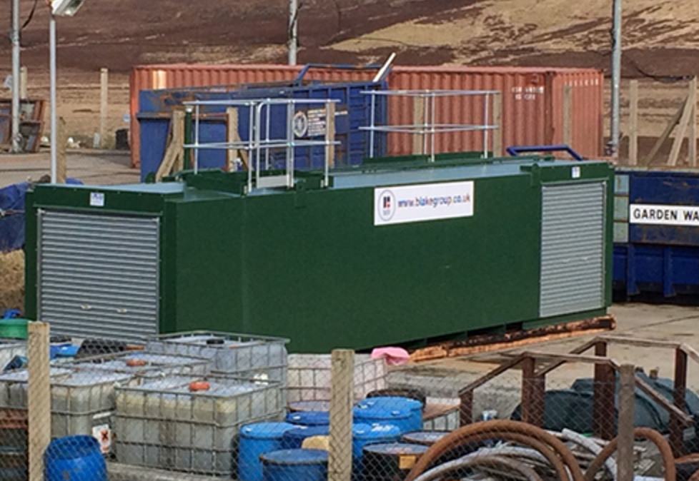 New tank for Western Isles Council