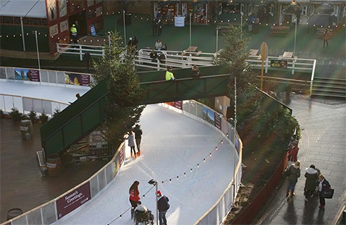 Bridges at St Andrew's Square Ice Rink