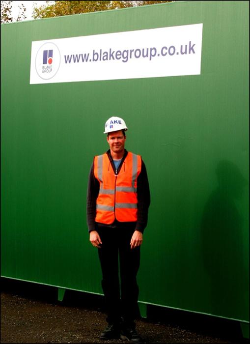Rolf Hoffmann visits Blake Group in Edinburgh