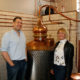 Matthew Gammell of Pickerings Gin and Nadine Gray