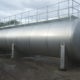 Cylindrical steel tank