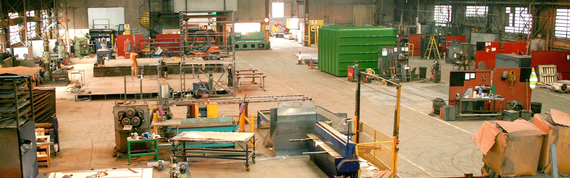 Steel fabrication Scotland