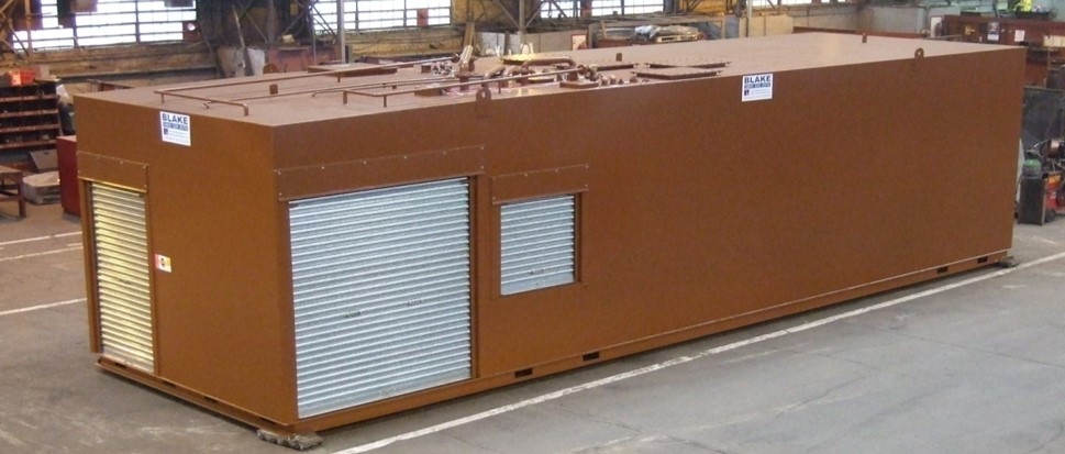 A Quadruple Compartment Steel Tank