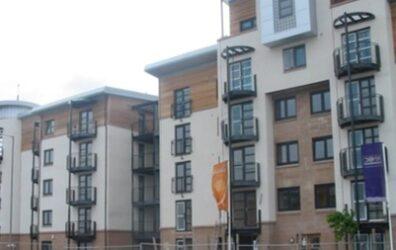 Barratt Tradewinds flats in Leith