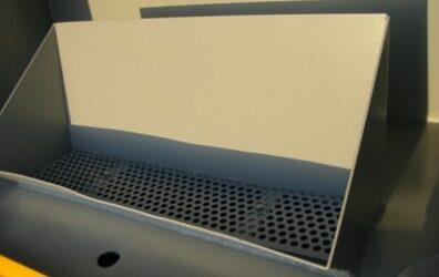 waste oil storage tank interior for Bradford Council by Blake Group Edinburgh