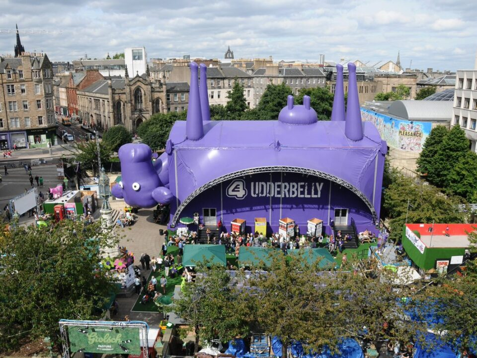 Image of Underbelly's Udderbelly event location