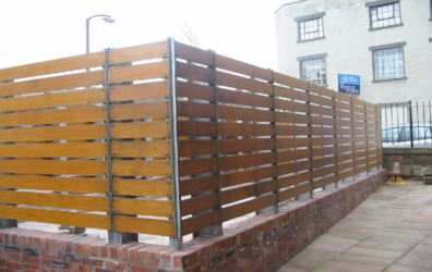 Exterior metalwork at Bonnington Bond by Blake Group