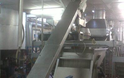Stainless steel chute for Highlander Crisps
