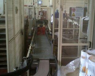 conveyor belt by Blake Group for Highlander Crisps