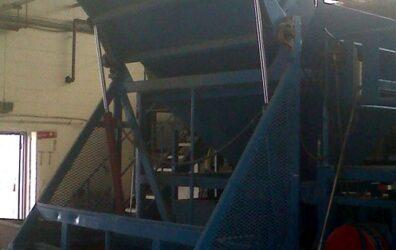 Giant potato hopper for Highlander Crisps factory by Blake Group