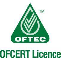 OFCERT Licence logo